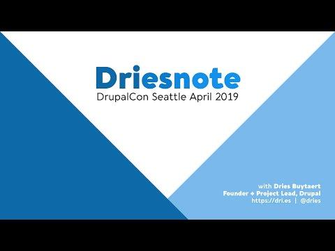 DrupalCon Seattle 2019: Driesnote