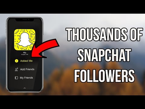 How to Get Thousands Of Snapchat Friends (Get More Friends