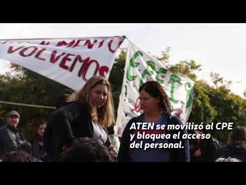 El gremio docente ATEN copó este lunes el Consejo Provincial de Educación