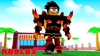 ROBLOX TITAN SIMULATOR - DONUT SQUASHES UND CRUSHES HIS BABY BROTHER