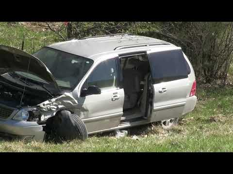 One Injured in Single Vehicle Accident