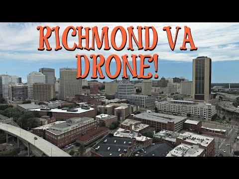 RICHMOND, VA DRONE FOOTAGE!