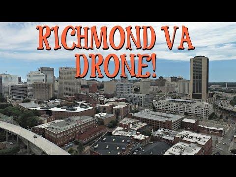 EPIC RICHMOND, VA DRONE FOOTAGE!