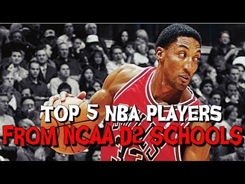 Top 5 NBA Players From NCAA Division 2 Schools