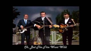 Johnny Cash - Ring Of Fire with LYRICS HD