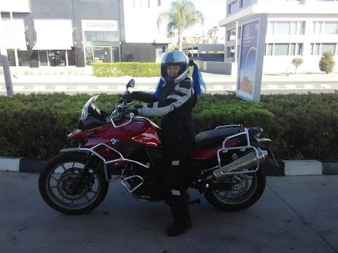 Motorcycle Riding in Cyprus. Limassol - Agros 30.11.2014. BMW F700GS