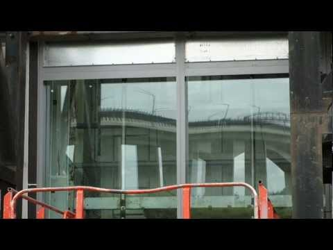 Façade structural testing - glass distortion