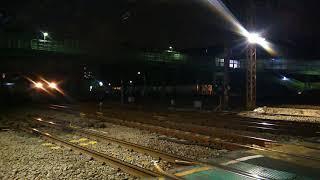 1050レ EF210-161[新]+コキ26両 東海道貨物線花月園前踏切通過