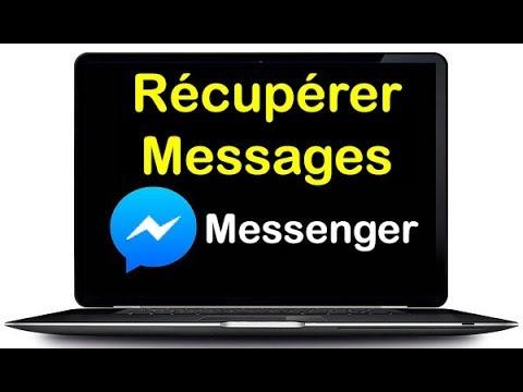 Comment retrouver une conversation Messenger (récupérer conversation Messenger)