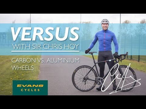 Carbon vs Aluminium Wheels | VERSUS with Sir Chris Hoy