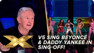V5 perform Beyoncé and Daddy Yankee in Semi-Final sing-off!