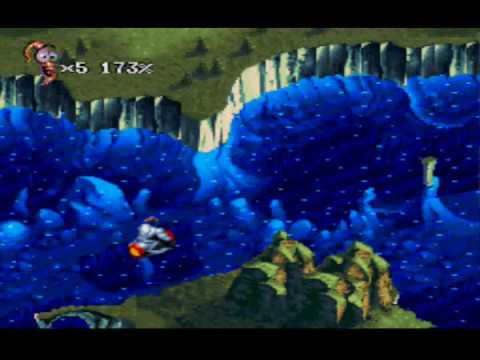 Let's Play Earthworm Jim 2, Part 05 - The Flyin' King