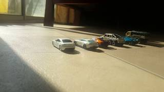 TOY CARS REVIEW IN SUNLIGHT!