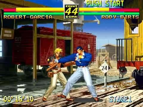 Neo Geo Cd Art Of Fighting 3 Path Of The Warrior Youtube