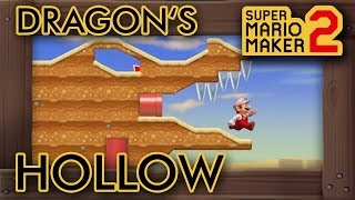"Super Mario Maker 2 - Amazing ""Dragon's Hollow"" Level"