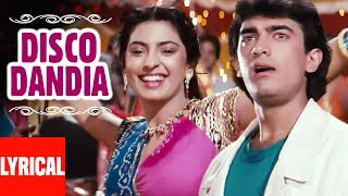 Disco Dandia Lyrical Video   Love Love Love   Vijay Benedict, Alisha Chinai   Amir Khan, Juhi Chawla