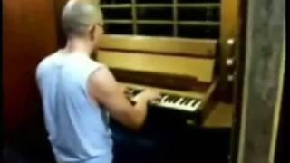 J S  Bach   Fuga en Re menor (fragmento)