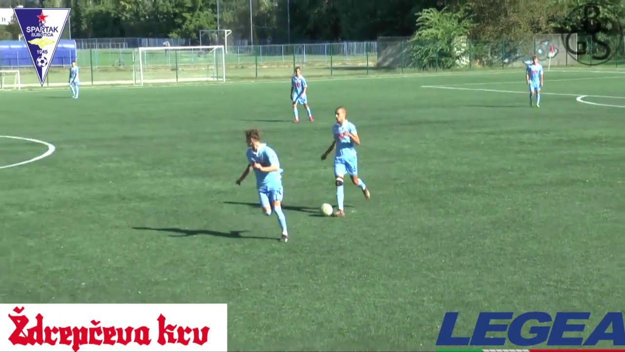 KADETSKA LIGA SRBIJE / FK SPARTAK ŽK - FK TSC 4:1 / X KOLO / 19.09.2020