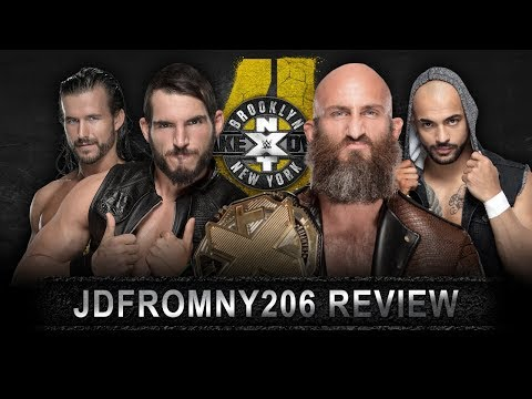 WWE NXT Takeover Brooklyn 4 Full Show Review & Results: GARGANO VS CIAMPA LAST MAN STANDING!