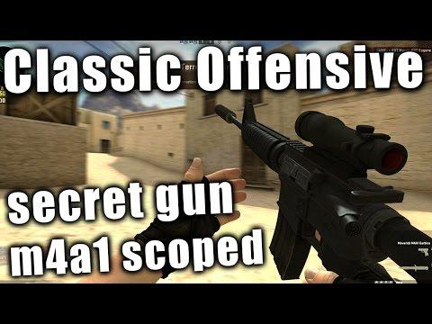 Counter-Strike: Classic Offensive - hidden gun/easter egg gun