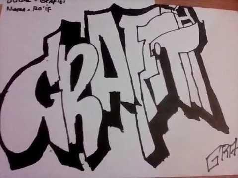 Gambaran Grafiti Sama Pilox