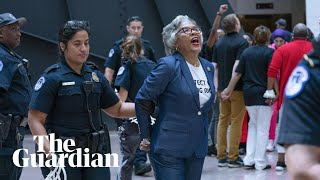 Joyce Beatty arrested during voting rights protest at US Capitol