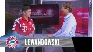 Robert Lewandowski's erster Tag
