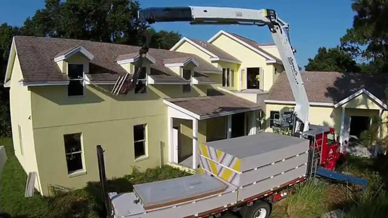 Drywall Delivery view from top