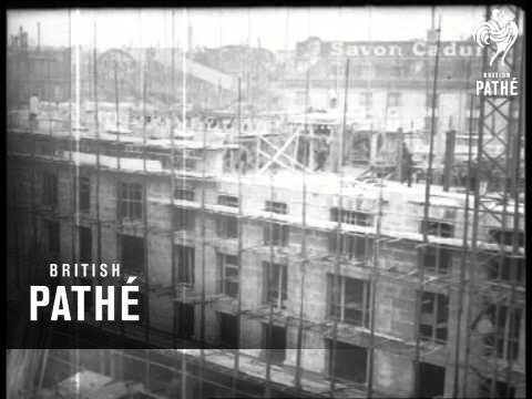 Building The Boulevard Haussmann - Paris 1926 (1926)
