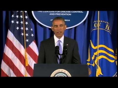 President Obama Addresses Ebola Epidemic in West Africa