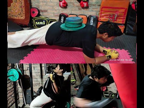 Kick-Boxing Strength & Conditioning training for beginner #martialarts #kickboxing