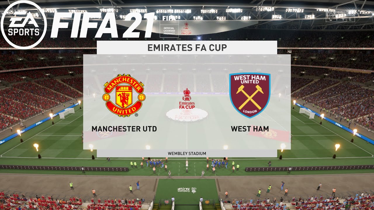 FIFA 21 | Manchester United Vs West Ham | FA Cup 2020/21 | 09 February 2020