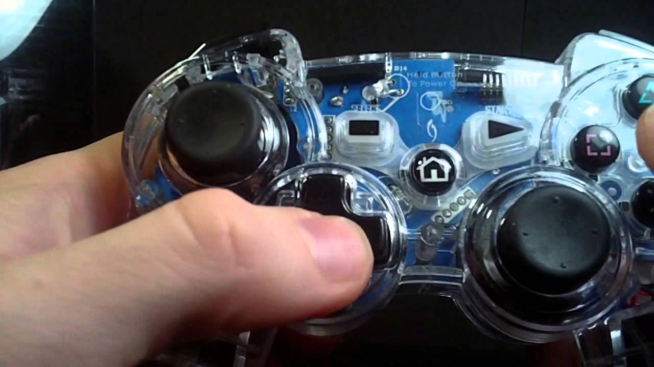 how to connect afterglow ps3 controller to pc