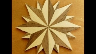 Compass Rose - Woodworking How To Project