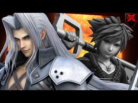 Sephiroth Destroys The Sora Dream? - Super Smash Bros Ultimate DLC |
