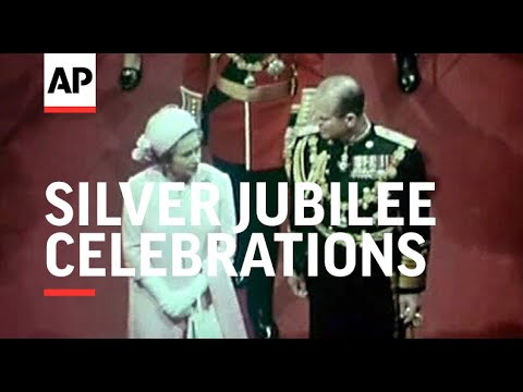 THE QUEEN'S SILVER JUBILEE CELEBRATIONS