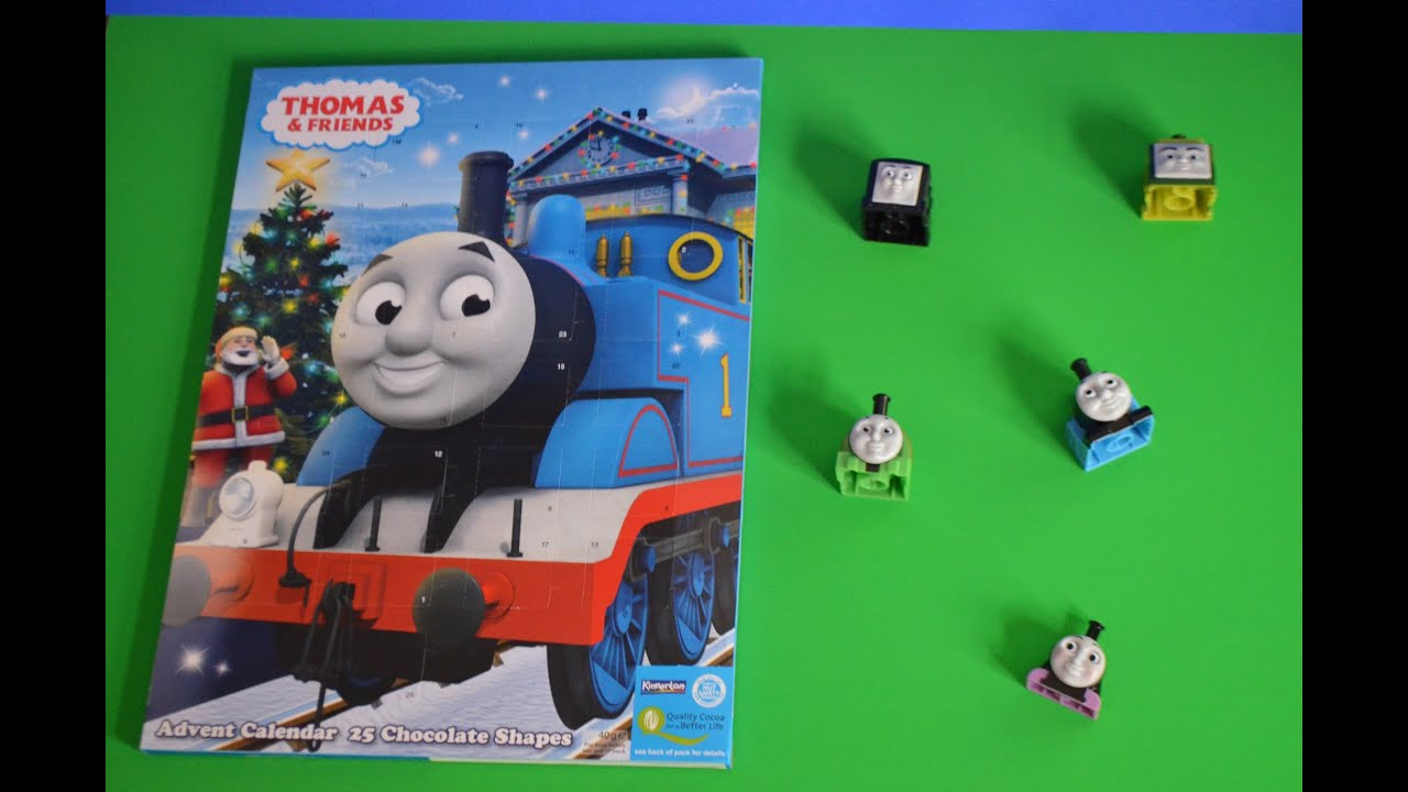 5 thomas and friends advent calendar surprise chocolates