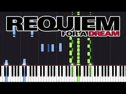 Lux Aeterna - Requiem for a Dream [Piano Tutorial] (Synthesia) // KindOfPianoCovers