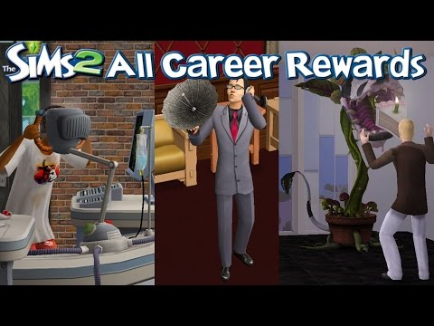 The Sims 2 All Career Rewards