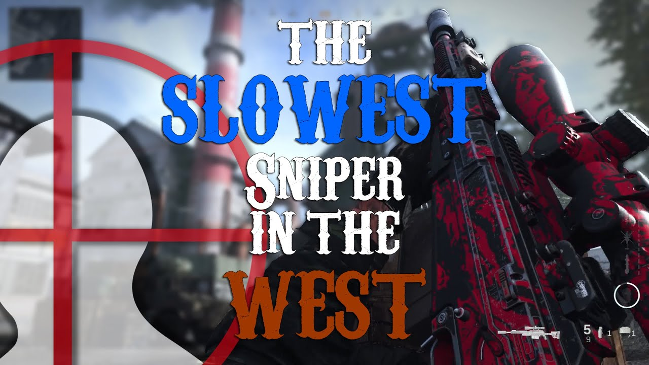 The SLOWEST sniper in all the west! - Modern Warfare