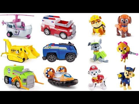 Thumbnail: Best Learning Colors Video for Children - Help Paw Patrol Pups Match Vehicles