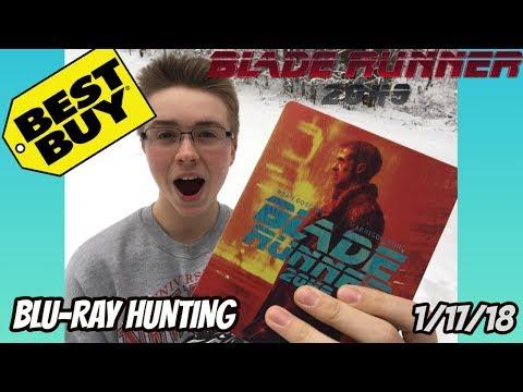 BLADE RUNNER 2049 BLU-RAY HUNTING/UNBOXING