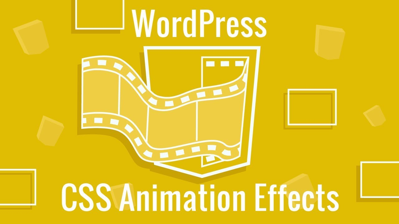 CSS Animations in WordPress