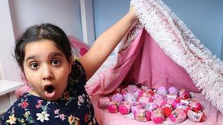البيض العجيب  !! surprise egg seek  With Nursery Rhymes Song