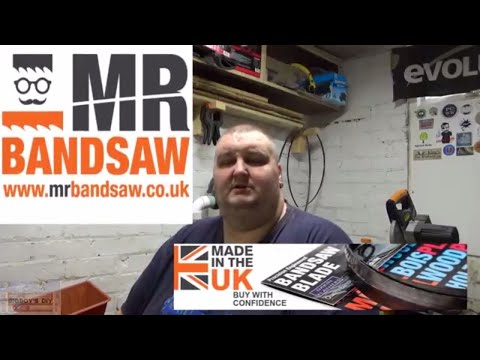 Mr Bandsaw Blade Review