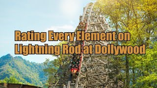 Reviewing Each Element on Lightning Rod at Dollywood