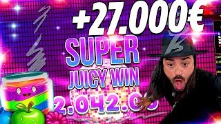 ROSHTEIN Huge Win  on Jammin Jars Slot - Top 5 Wins of week