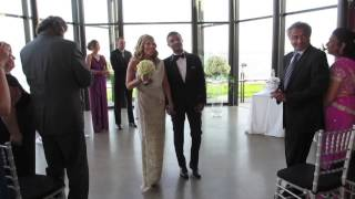 Laura & Navin {Get Married} Spencer's on the Lake Wedding & Reception images