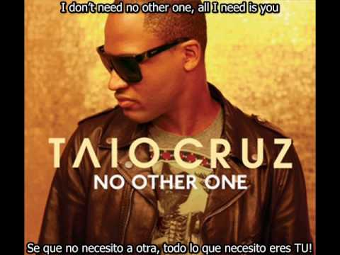Taio Cruz  No Other One subtitulado ingles y español