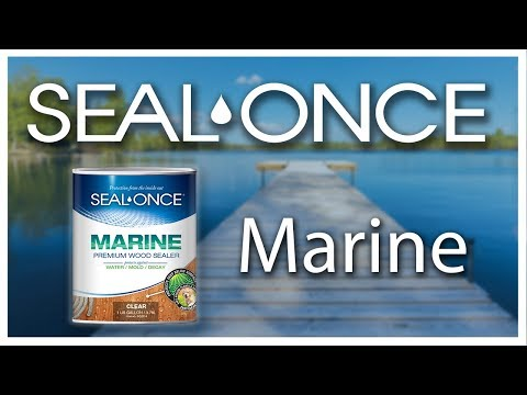 MARINE Premium Wood Sealer | Seal-Once